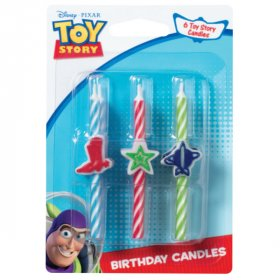 Disney Pixar Toy Story Woody & Buzz Icon Birthday Character Candles