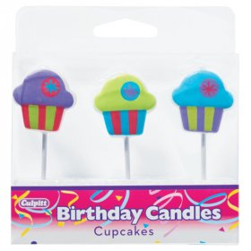 Cupcake Shaped Candles