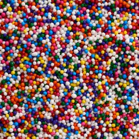 Multi-Colored Nonpareils Sprinkles