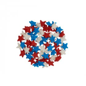 Mini Stars Red, White and Blue Mix Quins
