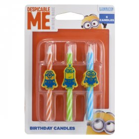 Despicable Me Icons Character Candles