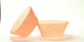 500pc Mini  Greaseproof Baking Cup Peach Design