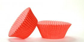 500pc Mini  Greaseproof Baking Cup Red Design