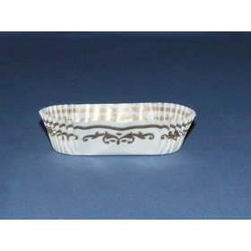 "500pc 3 "" Eclair Cup  Size:  H 7/8"" X W  1 1/4""X  L  3 1/8"""