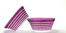50pc Purple Circle Design Standard Size Cupcake Baking Cups Liners Wrappers