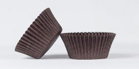 500pc Solid Brown Color Standard Size Cupcake Baking Cups Liners Wrappers