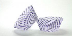 50pc Pisa Design - Purple Standard Size Cupcake Baking Cups Liners Wrappers
