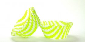 500pc Stripe Design Lime Green Standard Size Cupcake Baking Cups Liners Wrappers