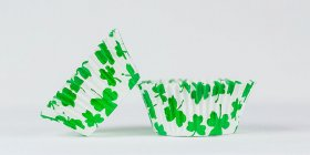 50pc  Shamrock Design Standard Size Cupcake Baking Cups Liners Wrappers