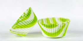 500pc Zebra Design Lime Standard Size Cupcake Baking Cups Liners Wrappers
