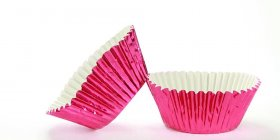 500pc Mini Size  Cerise Foil Baking Cup With Greasepoof Liner