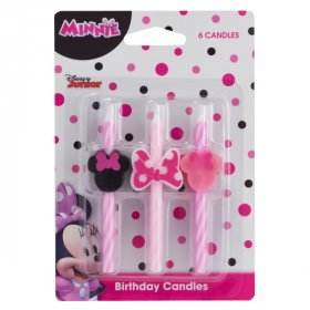 Minnie Mouse Icon Character Candles