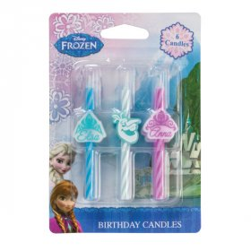 Frozen Icon Character Candles