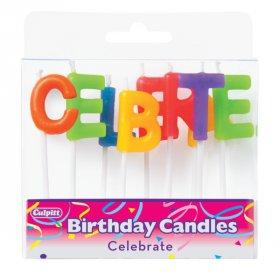 Celebrate Letter Speciality Candles