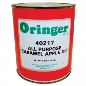 Caramel Topping for Caramel Apples Oringer #10 Can