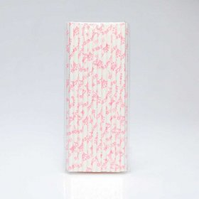 Paper Straw 25 pc - Girl - Princess