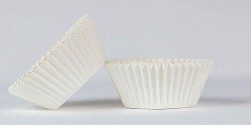 500pc Mini  Greaseproof Baking Cup  White