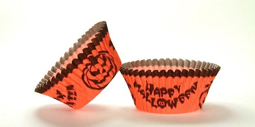 500pc Halloween Design Standard Size Cupcake Baking Cups Liners Wrappers